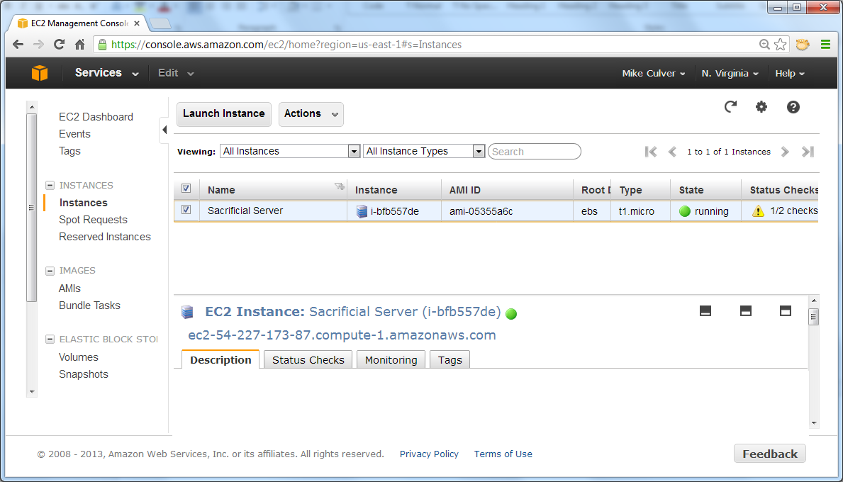 Creating an AWS instance running ElasticSearch :: Outlandish