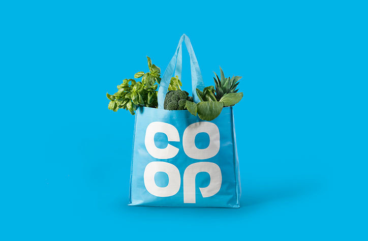 The new old Coop logo  — Totes