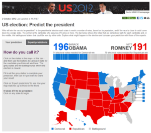 BBC US Election 2012 - this one was particularly stressful for the teams, though seamless for the audience